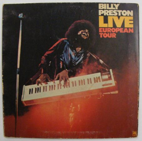 Billy Preston Live European Tour LP (VG/VG) ITALY