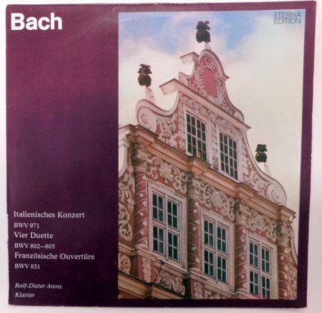 Bach, Rolf-Dieter Arens - Italienisches Konzert - 4 Duette H-Moll-Partita LP (NM/VG)GER.