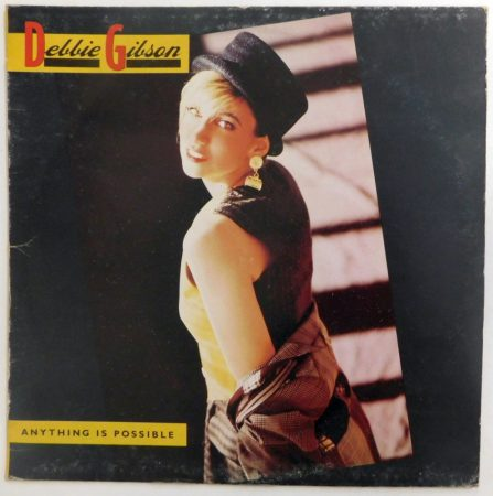 Debbie Gibson - Anything Is Possible LP (EX/VG) HUN