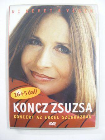 Ki nevet a végén - Koncz Zsuzsa koncert az Erkel színházban DVD