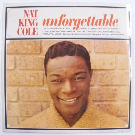 Unforgettable Nat King Cole LP (VG+/VG+) IND