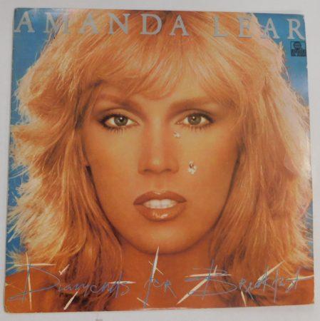 Amanda Lear - Diamonds for Breakfast LP (VG+/VG+) JUG.