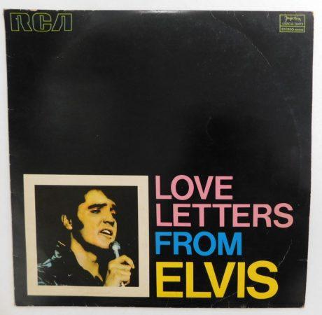 Elvis - Love Letters From Elvis LP (VG+/VG) JUG