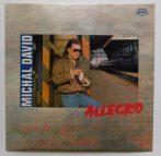 Michal David - Allegro LP - ALÁÍRT  (EX/EX) CZE