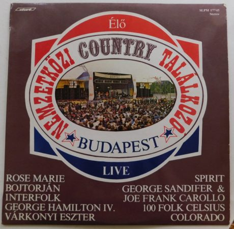 V/A - Nemzetközi Country találkozó Budapest - Live LP (VG+/VG+) HUN