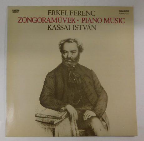 Erkel Ferenc - Zongoraművek - Kassai István - Piano music LP (EX/VG+) HUN 1992
