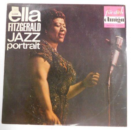 Ella Fitzgerald - Jazz portrait LP (VG+/VG) GER