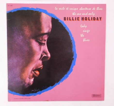 Billie Holiday - The One And Only Lady Sings The Blues LP (EX/VG+) France