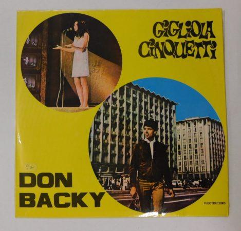 Gigliola Cinquetti - Don Backy LP (VG+/VG+) ROM.