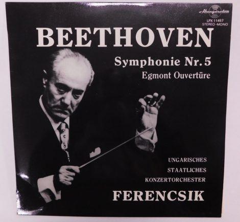 Beethoven / Ferencsik - Symphonie Nr. 5 / Egmont Overture LP (EX/VG+) HUN.
