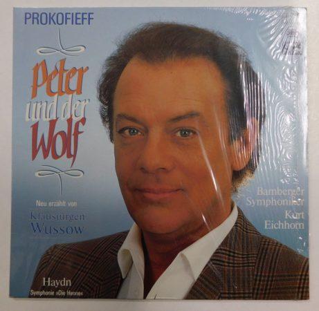 Prokofieff: Peter und der Wolf / Haydn: Symphonie Nr. 88 / Kurt Eichorn LP (NM/NM) GER