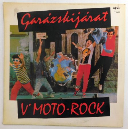 V Moto-Rock - Garázskijárat LP (VG+/VG)