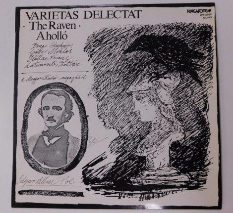 Edgar Allan Poe - Varietas Delectat - A holló LP (NM/EX)