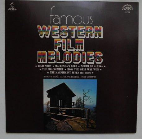 Prague Radio Dance Orchestra - Famous Western Film Melodies LP (VG+/G+) CZE