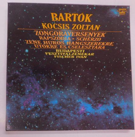 Bartók, Kocsis, Fischer - Zongoraversenyek, Rapszódia 3xLP(NM/VG+)+booklet