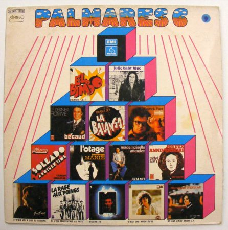 Palmares - 6 LP (VG+/VG) FR