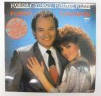 Korda György, Balázs Klári - Forró Éjszakák LP (EX/EX) dedikált