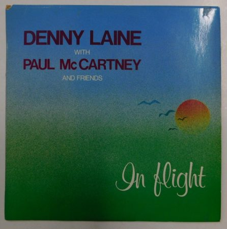 Denny Laine with Paul McCartney: In Flight LP (VG+/VG) HUN