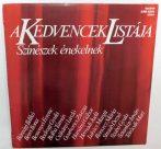 V/A - A Kedvencek Listája - Színészek Énekelnek LP (EX/VG)