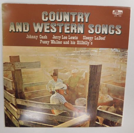 V/A - Country And Western Songs LP (EX/VG) JUG