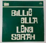 Billie, Ella, Lena, Sarah LP (VG+/VG) CZE.