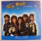 Viki and Flirt - Tüzes éjszaka / Fiery Night LP (NM/VG+)