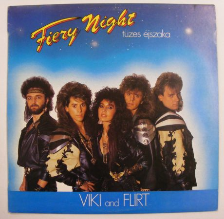 Viki and Flirt - Tüzes éjszaka / Fiery Night LP (NM/VG+)