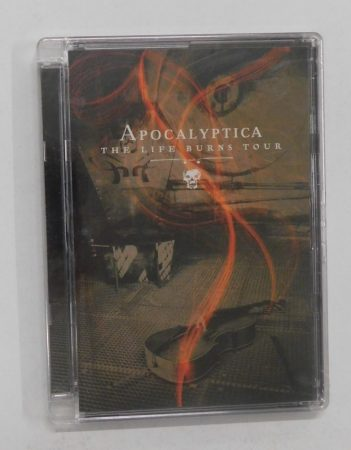 Apocalyptica - The Life Burns Tour DVD, ÚJ