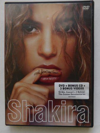 Shakira - Oral Fixation Tour DVD + bonus CD (NRB)
