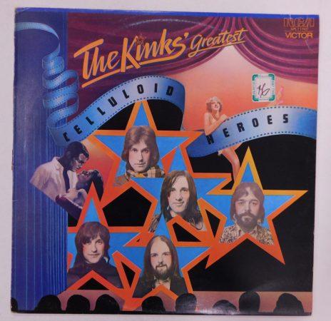 The Kinks - Celluloid Heroes - The Kinks' Greatest LP (EX/VG) Australia