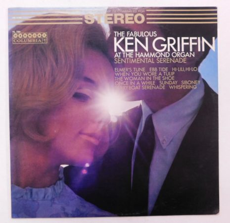 Ken Griffin - Sentimental Serenade LP (VG+/VG+) USA, 1966