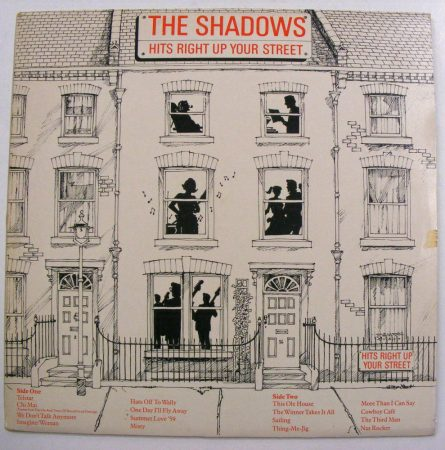The Shadows: Hits Right Up Your Street LP (VG+/EX) JUG