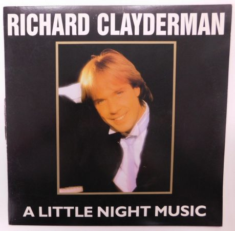 Richard Clayderman - A Little Night Music LP (NM/G+) HUN, 1990