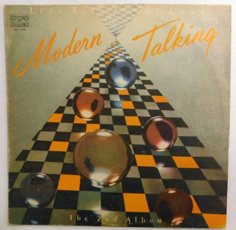Modern Talking - Let's Talk About Love - The 2nd album LP (EX/VG) BUL