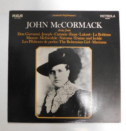 John McCormack - Immortal Performances LP(EX/EX)USA