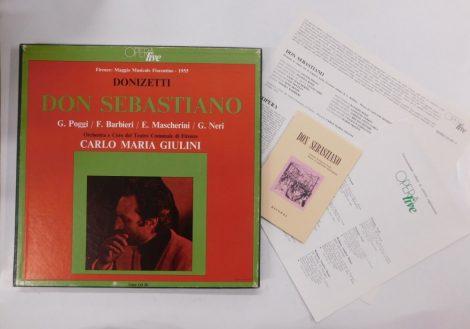 Donizetti - Don Sebastiano 3xLP (VG+/VG+)