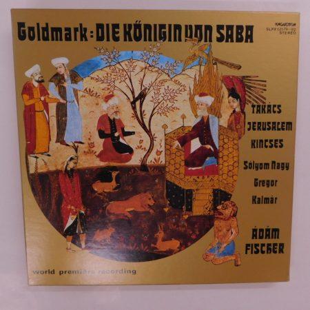 Goldmark - Die Königin von Saba 4xLP+booklet (NM/VG+)