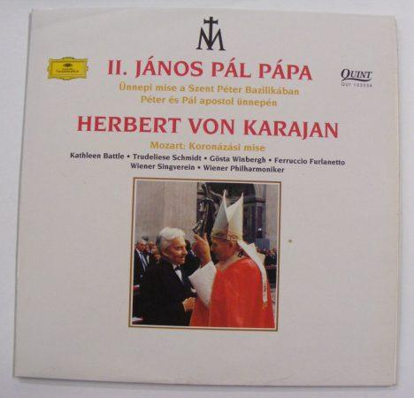 II. János Pál Pápa: Ünnepi szentmise /Herbert von Karajan LP (Nm/NM) HUN