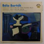 B. Bartók, A. Gertler, D. Anderson - Sonata For Violin And Piano No 2/Sonata For Violin Solo LP (VG+/VG+) CZE