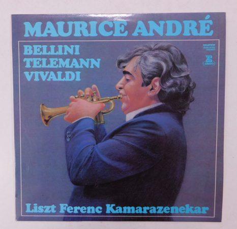Maurice André - Liszt Ferenc Kamarazenekar/Bellini,Telemann,Vivaldi LP (VG/VG+) HUN.