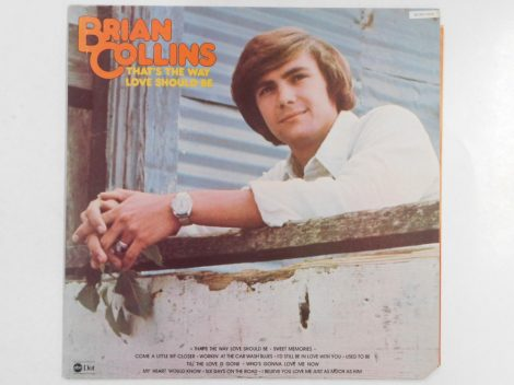Brian Collins - That's The Way Love Should Be LP (VG+/VG+) USA