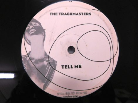 """The Trackmasters - Tell Me 12"""" (VG+) 2002"""