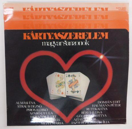 Kártyaszerelem - Magyar Sanzonok LP (EX/EX)