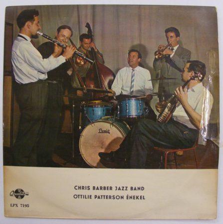 Cris Barber Jazz Band - Ottilie patterson énekel LP (VG+/VG)