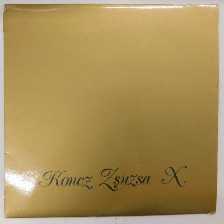 Koncz Zsuzsa - X LP (VG/VG)