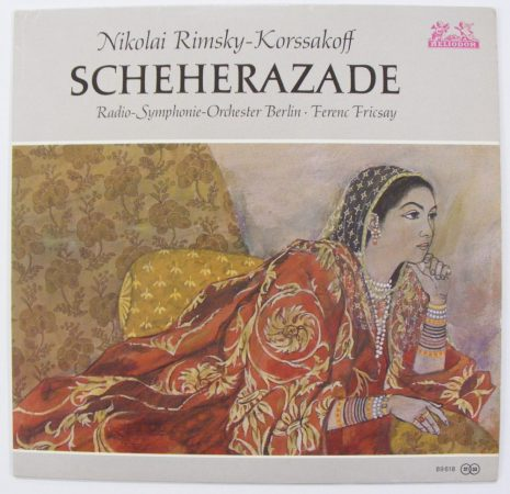 Rimsky-Korsakoff: Scheherezade / RSO Berlin - Fricsay LP (VG+/VG+) NSZK