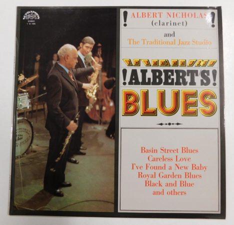 Albert Nicholas: Alberts Blues LP (VG+/VG+) CZE