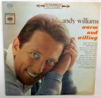 Andy Williams - Warm And Willing LP (VG/VG) USA
