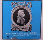 Mozart,Bartók Quartet - Six String Quartets - Dedicated To Haydn 3xLP Box (NM/VG+)HUN. +booklet