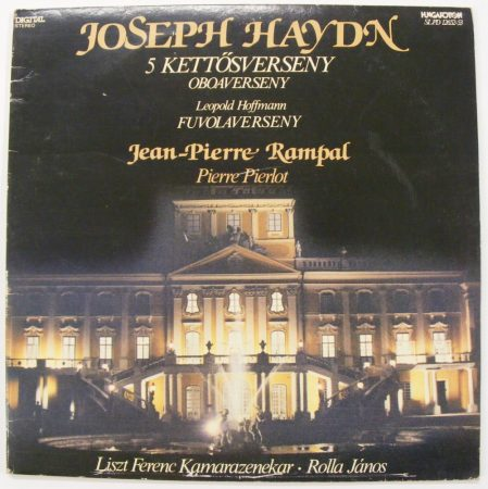 Haydn: 5 kettősverseny, oboaverseny / Hoffmann: Fuvolaverseny / Rampal - Rolla 2LP (EX/VG) HUN
